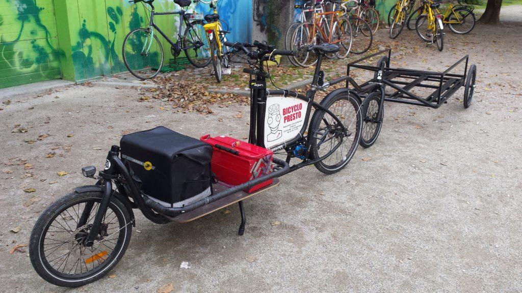 livraisons vélo cargo et semi remorque